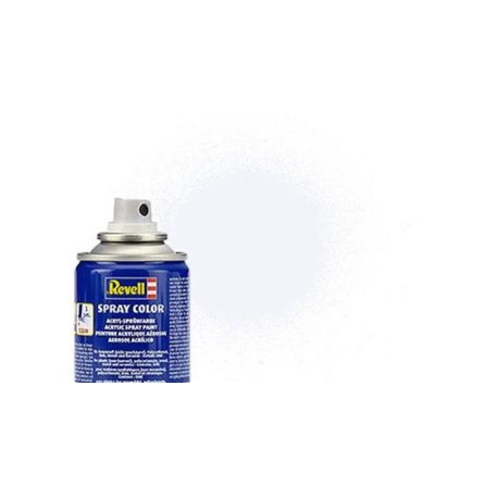 Revell 34105 Peinture Bombe Blanc Mat – White Matt Spray 100ml