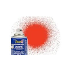 REVELL 34125 Peinture Bombe Orange Fluo Mat – Orange Fluo Matt Spray 100ml
