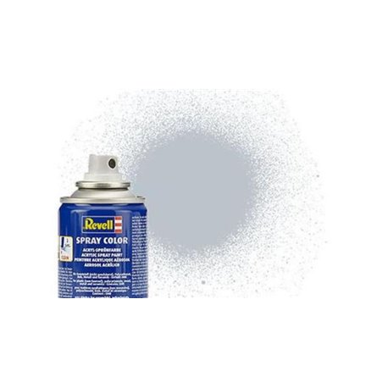 Revell 34199 Peinture Bombe Aluminium Metal - Aluminium Metallic Spray 100ml