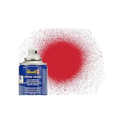Revell 34330 Peinture Bombe Rouge Feu Satiné Semi-Brillant – Fiery Red 100ml