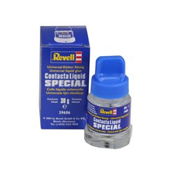 Revell 39606 Contacta Liquid Special Universal Colle - Glue 30g with Brush