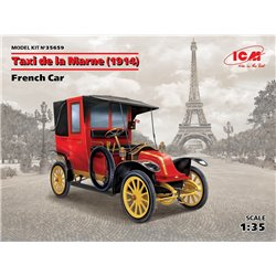 ICM 35659 1/35 Taxi de la Marne (1914) French Car