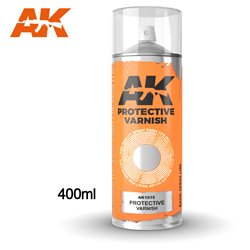 AK Interactive AK1015 Peinture Bombe VERNIS DE PROTECTION - VARNISH 400ml