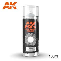 AK Interactive AK1017 Peinture Bombe FINE RESIN PRIMER SPRAY 150ml