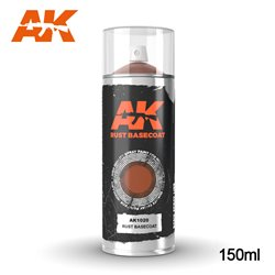 AK Interactive AK1020 RUST BASECOAT SPRAY 150ml