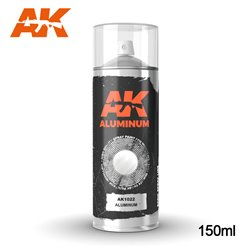 AK Interactive AK1022 Peinture Bombe ALUMINIUM SPRAY 150ml