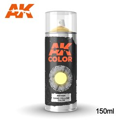 AK Interactive AK1024 Peinture Bombe JAUNE SABLE - SAND YELLOW COLOR SPRAY 150ml