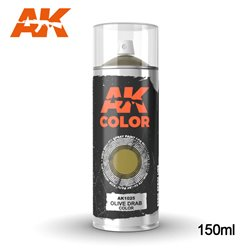 AK Interactive AK1025 Peinture Bombe OLIVE DRAB COLOR SPRAY 150ml