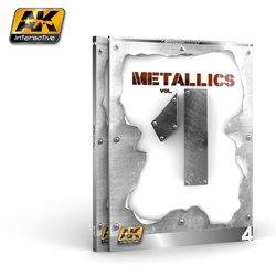 AK INTERACTIVE AK507 METALLICS VOL 1 (AK LEARNING SERIES Nº 4) ENGLISH