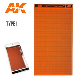 AK Interactive AK8056 EASYCUTTING TYPE 1