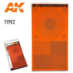 AK Interactive AK8057 EASYCUTTING TYPE 2