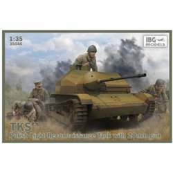 IBG Models 35046 1/35 TKS TKS - Polish Tankette with 20mm NKM wz. 38 FK-A
