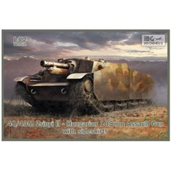 IBG Models 72052 1/72 40/43M Zrinyi II Hungarian 105mm Assault Gun
