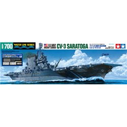 TAMIYA 25179 1/700 U.S.N Aircraft Carrier CV-3 Saratoga w/Pontos Detail Parts