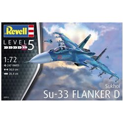 Revell 03911 1/72 Sukhoi Su-33 Navy Flanker