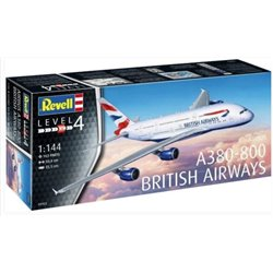 Revell 03922 1/144 Airbus A380-800 British Airways