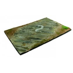 VALLEJO SC.102 Vallejo Scenics 31x21 Wooden Airfield surface Scenery 31 x 21