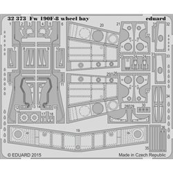 Eduard 32373 1/32 Fw 190F-8 wheel bay