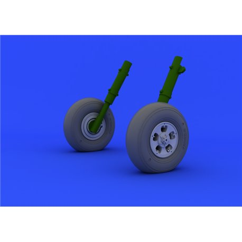 Eduard 632038 1/32 Spitfire Mk. I/II wheels Revell