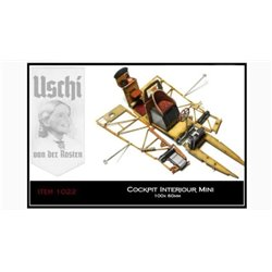 Uschi Van Der Rosten 1022 Cockpit Interiour Decals Wooden