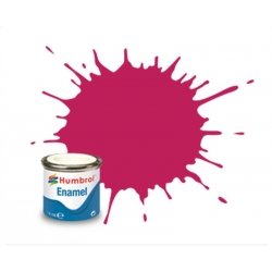 HUMBROL Peinture Enamel 51 SUNSET RED 14ml METALLIC