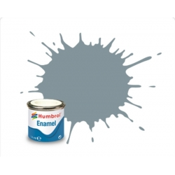 HUMBROL Peinture Enamel 87 STEEL GREY 14ml MATT