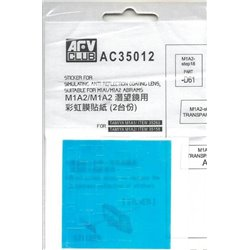 AFV Club AC35012 1/35 M1A1 & M1A2 reflective coating