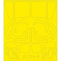 ICM 14405 1/144 Ilyushin-62M Soviet Passenger Aircraft