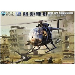 Kitty Hawk KH50003 1/35 AH-6J/MH-6J Little Bird Nightstalkers