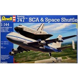 Revell 04863 1/144 Boeing 747 SCA & Space Shuttle