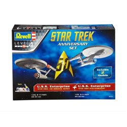 Revell 05721 1/500 Star Trek Anniversary Set U.S.S. Enterprise Original Series