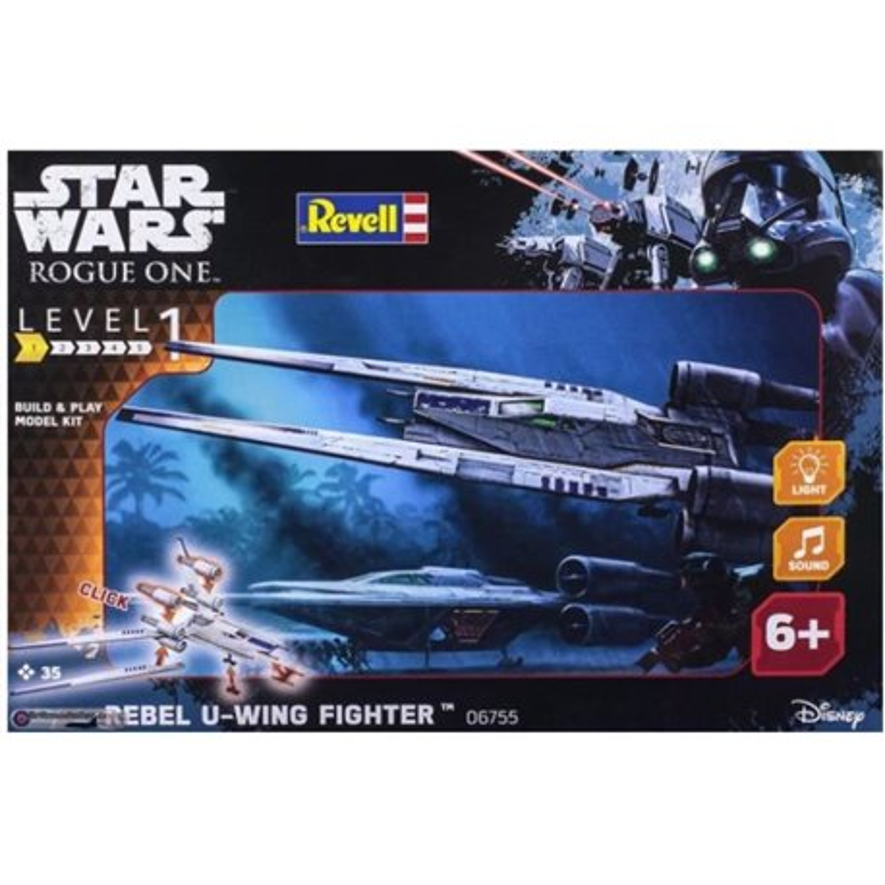 Revell 06755 1/100 Star Wars Rebel U-Wing Fighter