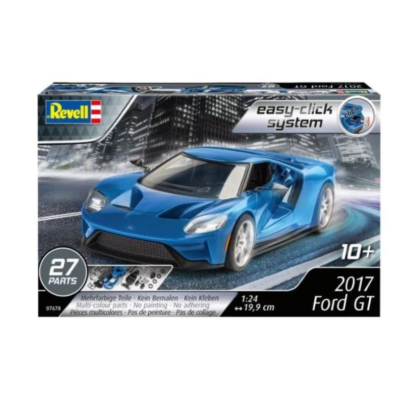 revell 07678 1 24 2017 ford gt easy click passion 132. Black Bedroom Furniture Sets. Home Design Ideas