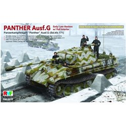 Rye Field Model RM-5016 1/35 Panther Ausf.G Early/Late w/Full interior Sd.Kfz.171