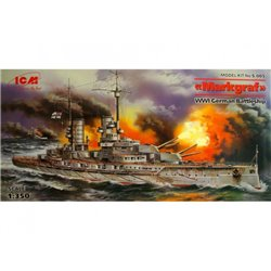 ICM S.005 1/350 Markgraf WWI German Battleship