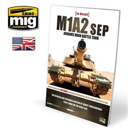 AMMO OF MIG A.MIG-5950 Livre M1A2SEP Abrams Main Battle Tank In Detail Anglais