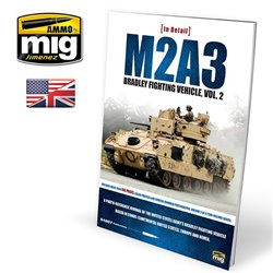 AMMO OF MIG A.MIG-5952 Livre M2A3 Bradley Fighting Vehicle In Europa Vol.2 Anglais