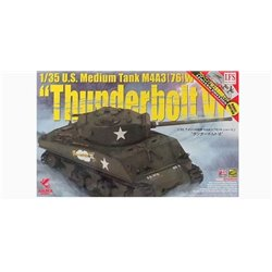 "Asuka 35-036S 1/35 U.S. Medium Tank M4A3 (76) W Sherman ""Thunderbolt VI"""