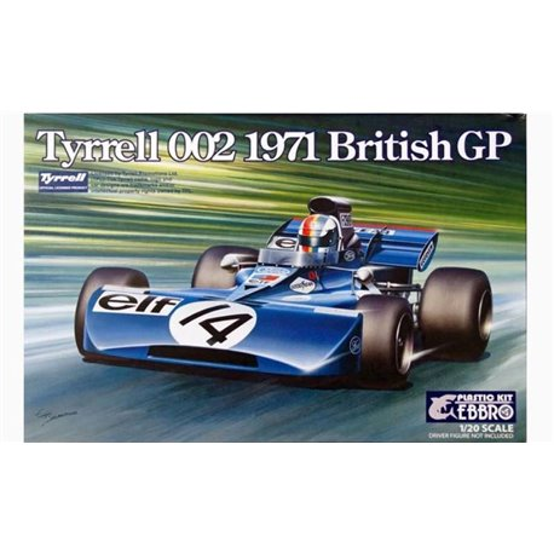 EBBRO 20008 1/20 Tyrrell 002 British GP 1971