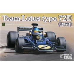 EBBRO 20009 1/20 Team Lotus Type 72E 1973 2nd. Production