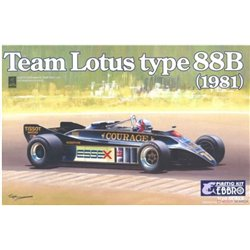 EBBRO 20010 1/20 Team Lotus Type 88B 1981