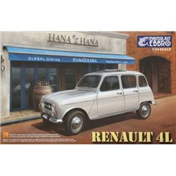 EBBRO 25002 1/24 Renault 4L