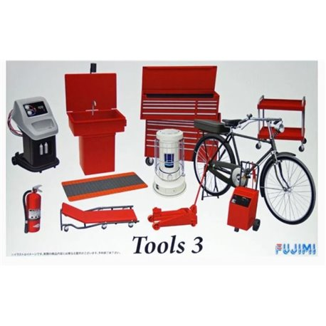 Fujimi 113739 1/24 Garage & Tool Series Tools No.3