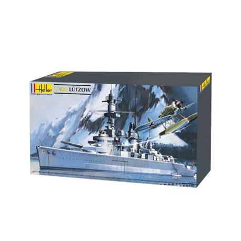 Heller 81047 1/400 German heavy cruiser Lutzow