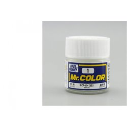 GUNZE Mr Color C001 WHITE 10ml