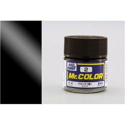 GUNZE Mr Color C002 BLACK 10ml