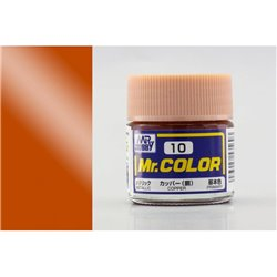 GUNZE Mr Color C10 COPPER GLOSS 10ml