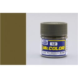 GUNZE Mr Color C012 OLIVE DRAB 1 10ml
