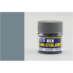 GUNZE Mr Color C13 NEUTRAL GRAY SEMI-GLOSS 10ml