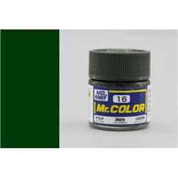 GUNZE Mr Color C16 IJA GREEN SEMI-GLOSS 10ml